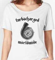 Turbocharged Worldwide Women's Relaxed Fit T-Shirt