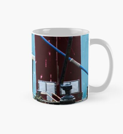 Narrowboat and swans  Mug