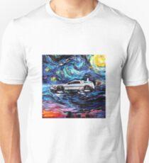 Pop Culture Mashup - Back to Van Gogh  Unisex T-Shirt