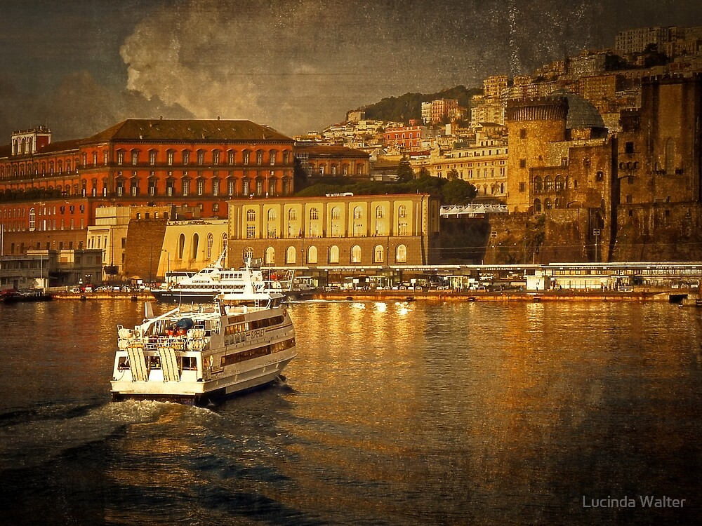 Harbor Golden Light by Lucinda Walter