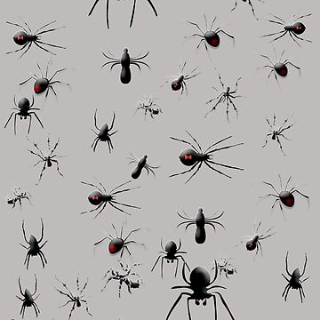 Creepy Spiders Pattern by Greenbaby