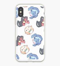 Pokemon    sun and moon starter    Cheebs iPhone Case