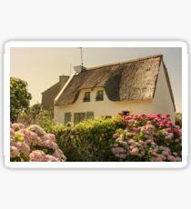 Hydrangea Cottage Sticker