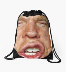 Donald Trump Cartoon Drawstring Bag