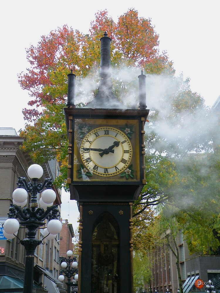 Quot Quot Right On Time Quot Gastown Steam Clock Vancouver Bc Quot By