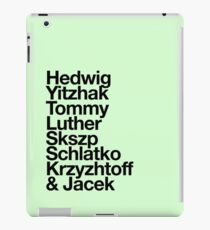 hedwig and the angry inches iPad Case/Skin
