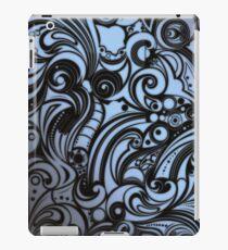 Psychedelic Grey iPad Case/Skin