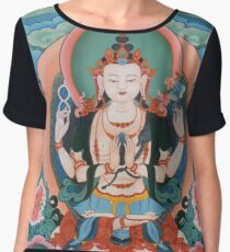 Buddha Women's Chiffon Top