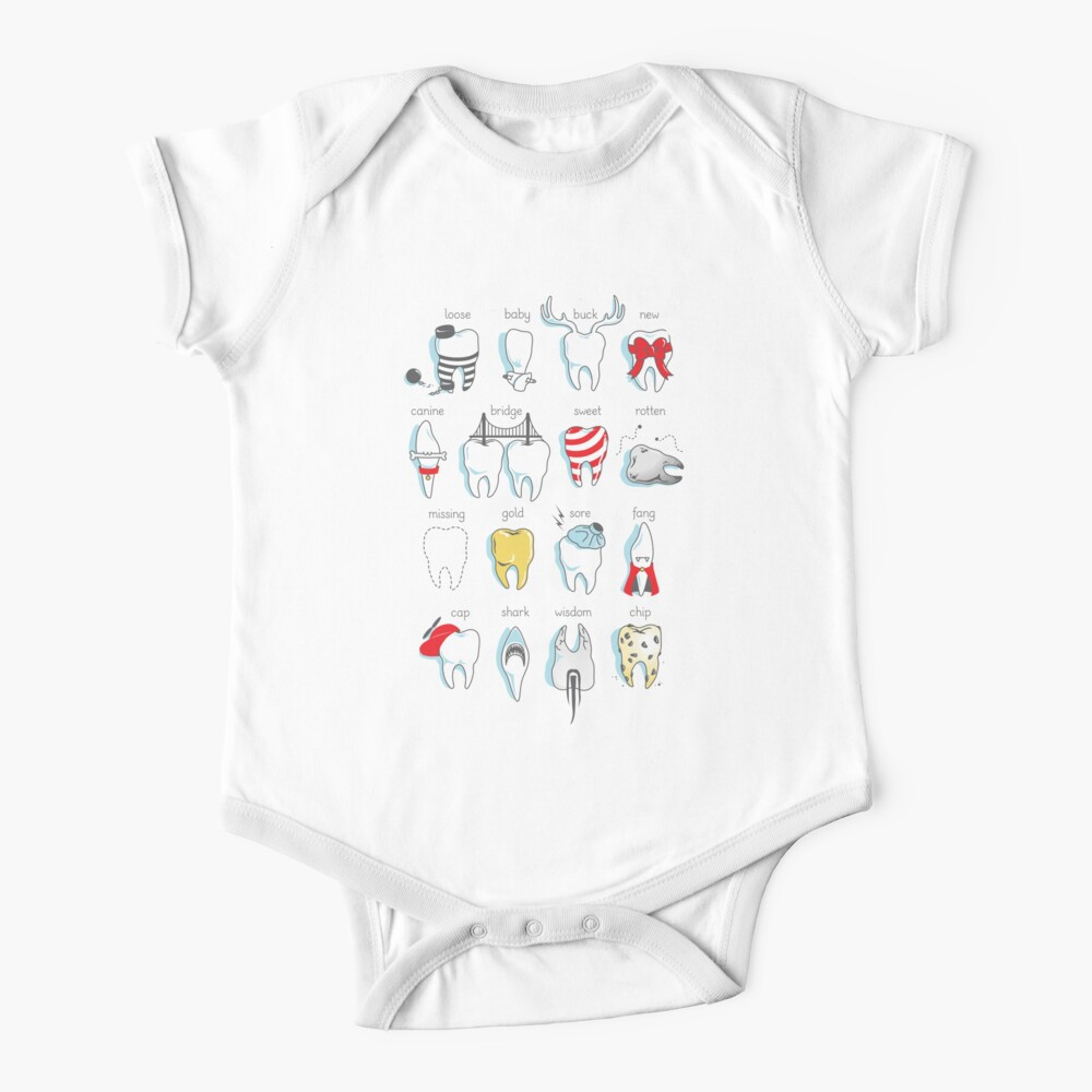 Dental Definitions Baby One-Piece
