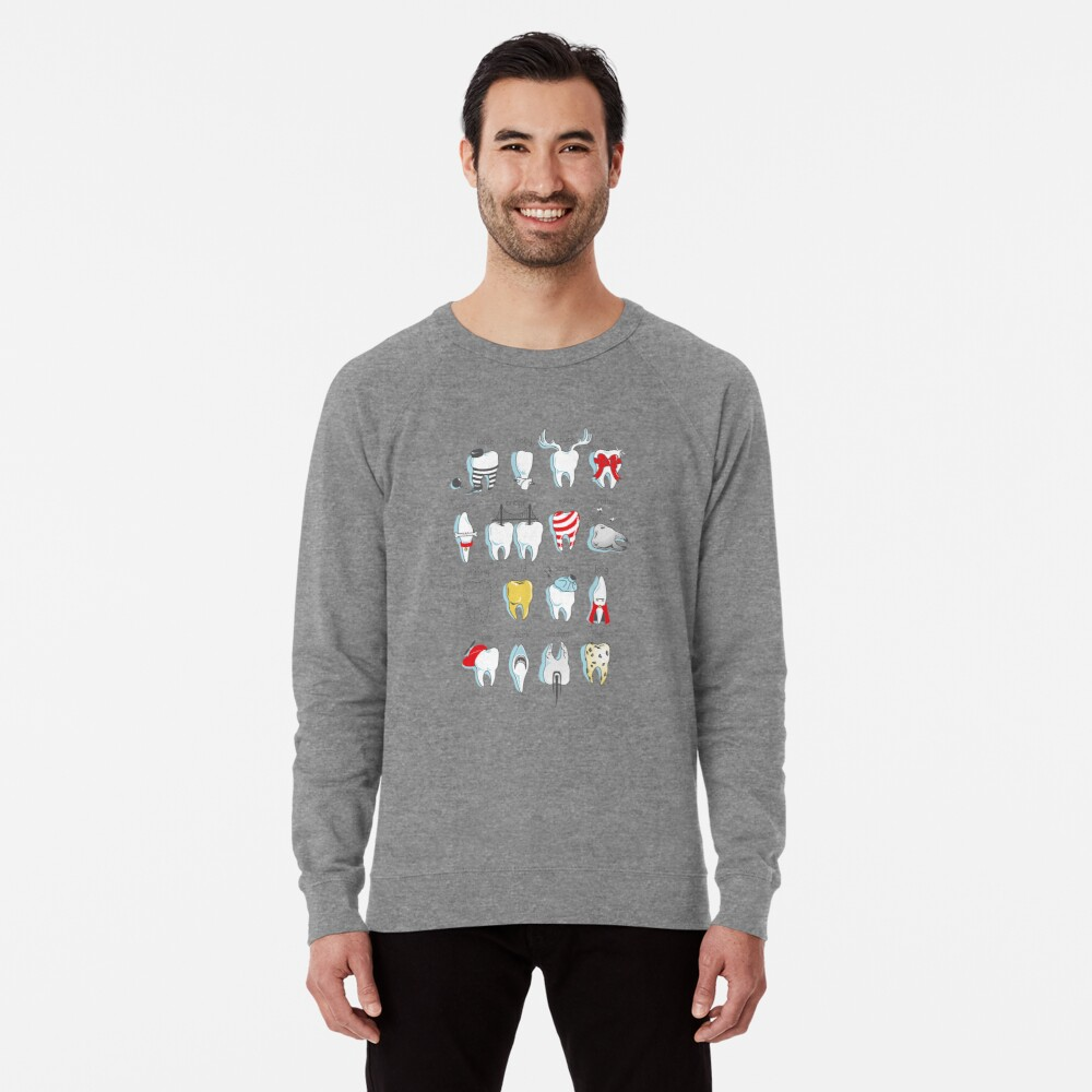 Dental Definitions Lightweight Sweatshirt
