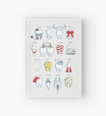 Dental Definitions Hardcover Journal