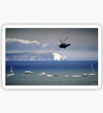 Chopper Over The Needles Sticker