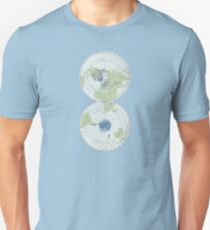 Old Map of the World - Poles Unisex T-Shirt