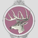 Victorian Deer by pixelspin