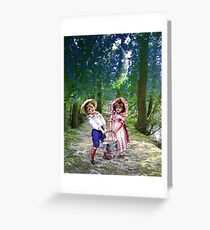 JACK AND JILL Greeting Card