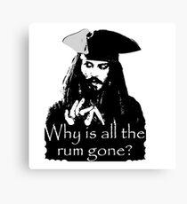 Jack Sparrow Leinwanddruck