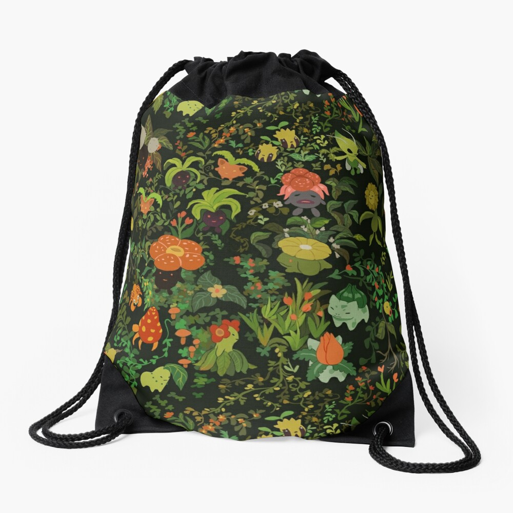 Forest Creatures Drawstring Bag