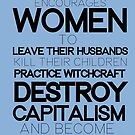 The Evils of Feminism by pixelspin