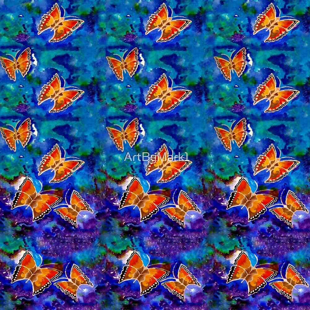 Wax Relief Butterflies by ArtByMark1