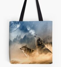 Moonrise Howl Tote Bag