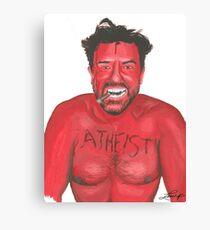 Ricky Gervais 'Atheist' Painting Canvas Print