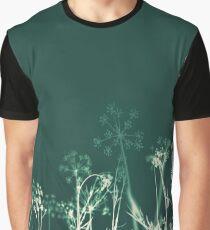 Huntsman Dreams.Dark Floral Graphic T-Shirt