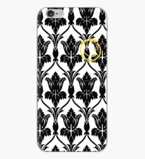Sherlock smile wallpaper iPhone Case