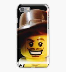 Lego Swashbucker minifigure iPhone Case/Skin