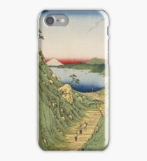 Vintage famous art - Ando Hiroshige  -Japanese Landscape iPhone Case/Skin