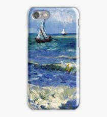 Vincent van Gogh Seascape near Les Saintes-Maries-de-la-Mer iPhone Case/Skin