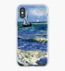 Vincent van Gogh Seascape near Les Saintes-Maries-de-la-Mer iPhone Case