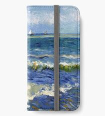 Vincent van Gogh Seascape near Les Saintes-Maries-de-la-Mer iPhone Wallet/Case/Skin