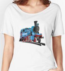 Cartoon Tank Engine Women's Relaxed Fit T-Shirt