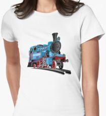 Cartoon Tank Engine Women's Fitted T-Shirt