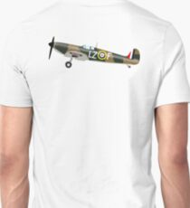 SPITFIRE, WAR BIRD, War Plane, British, Airplane, Fighter, WWII, 1942,  T-Shirt