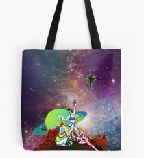 Dandy Vacation. In Space Tote Bag