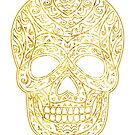 Tribal Skull by elangkarosingo