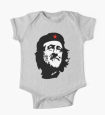 CORBYN, Comrade Corbyn, Election, Leader, Politics, Labour Party, Black on White Kids Clothes