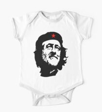 Election, CORBYN, Comrade Corbyn, Leader, Politics, Labour Party, Black on White One Piece - Short Sleeve