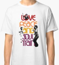 Love, Peace And Soul Train Classic T-Shirt