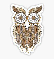 Dreamcatcher Owl Sticker