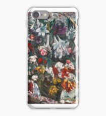 ovis Corinth    (FLOWER BASKET WITH AMARYLLIS, LILAC, ROSES AND TULIPS) iPhone Case/Skin