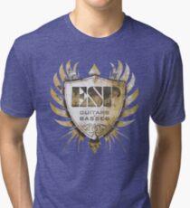 ESP Guitar Craft Academy Grunge Badge Tri-blend T-Shirt