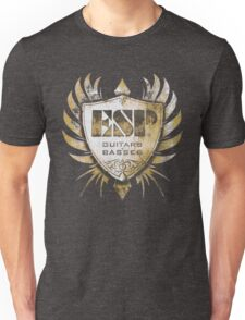 ESP Guitar Craft Academy Grunge Badge Unisex T-Shirt
