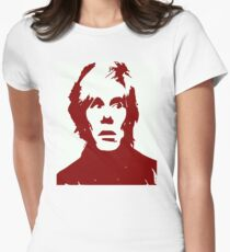 Andy Warhol Womens Fitted T-Shirt
