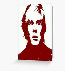 Andy Warhol Greeting Card