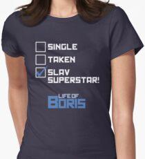 Slav superstar Womens Fitted T-Shirt