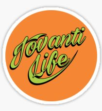 jovanti life Sticker