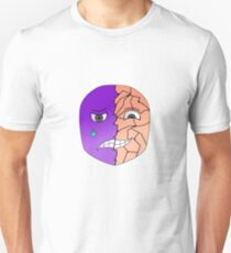 A smile hides the unhappiness T-Shirt