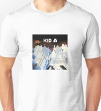 Kid A Pixel Art T-Shirt